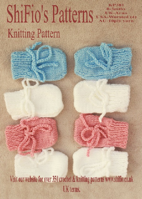 Knitting Pattern #381