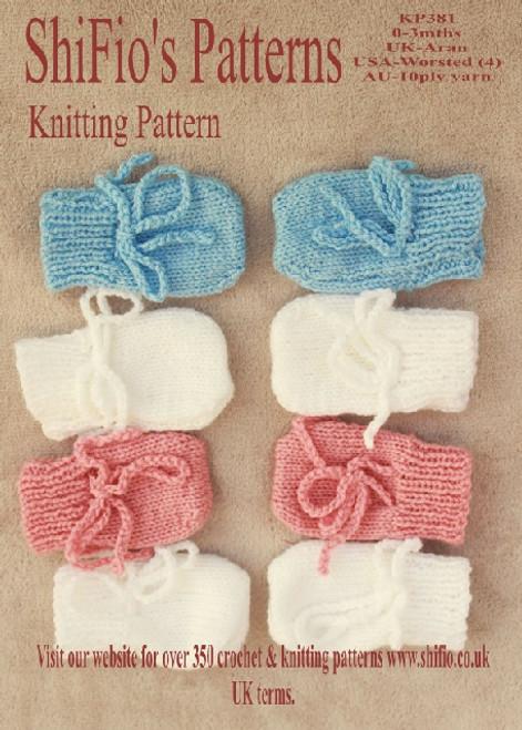 Knitting Pattern #381
