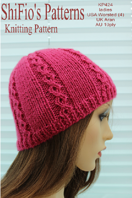 Knitting Pattern  #424
