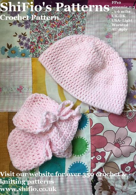 Free Crochet Pattern #FP10