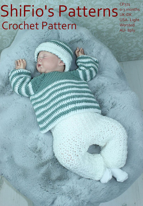 Crochet Pattern #371