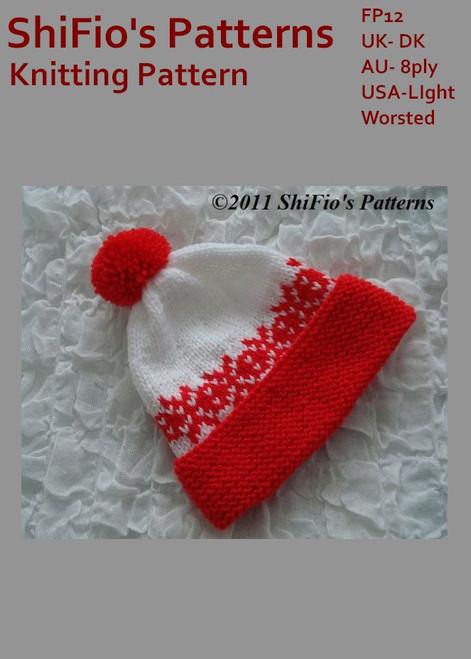 Free Knitting Pattern #FP12