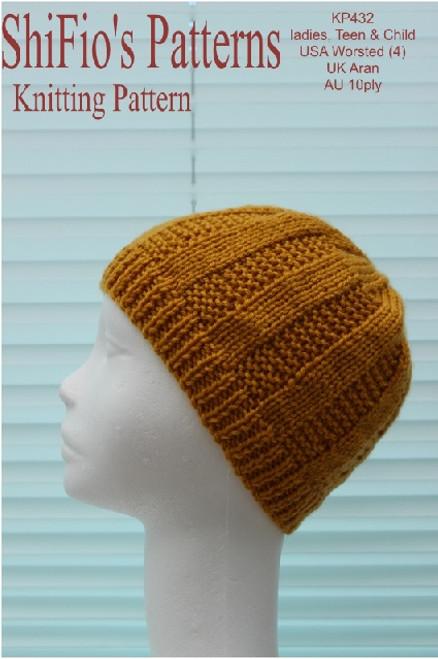 Knitting Pattern #432