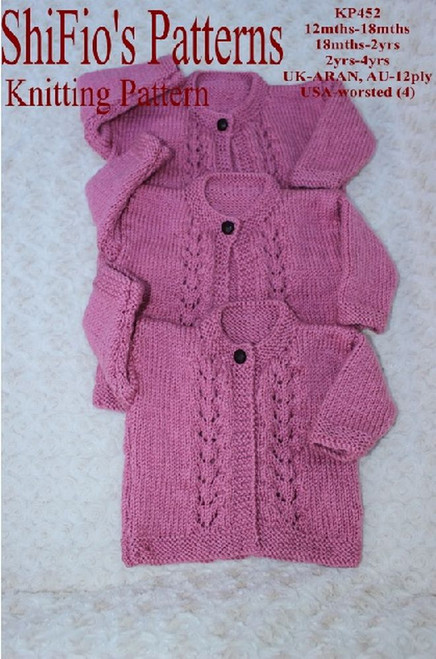 Knitting Pattern #452