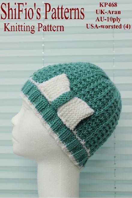 Knitting Pattern #468