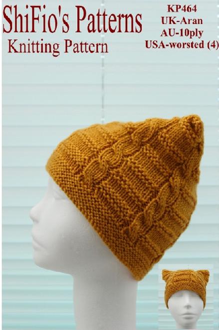 Knitting Pattern #464