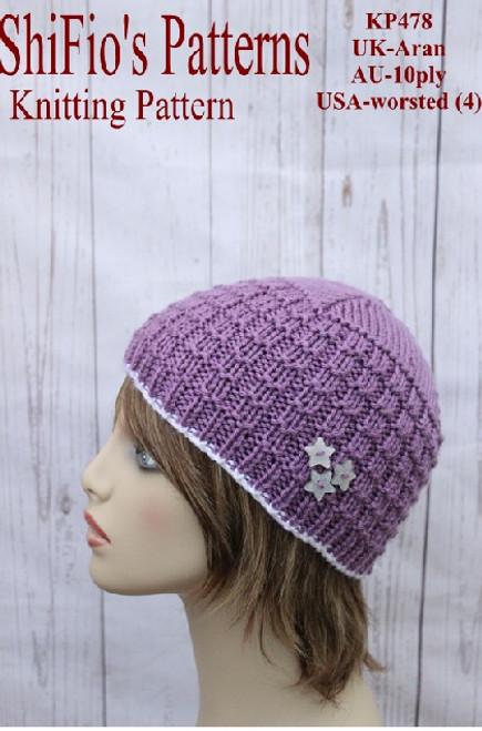 Knitting Pattern #478