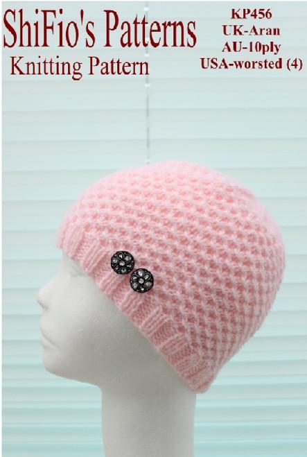 Knitting Pattern 456