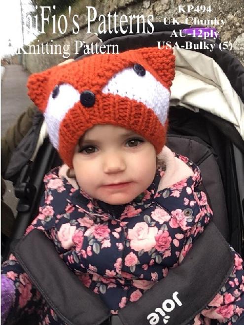 knitting pattern #494