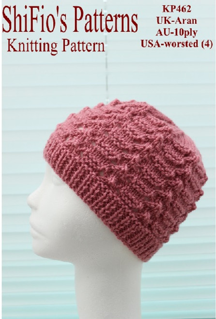 knitting pattern #462
