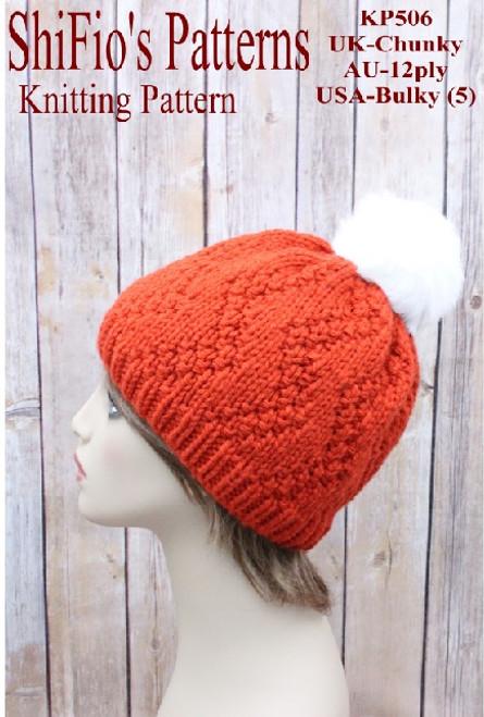 Knitting Pattern #506