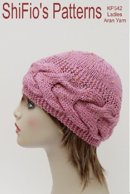 knitting pattern #542