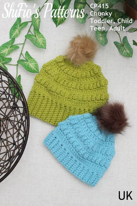 Crochet Pattern #415