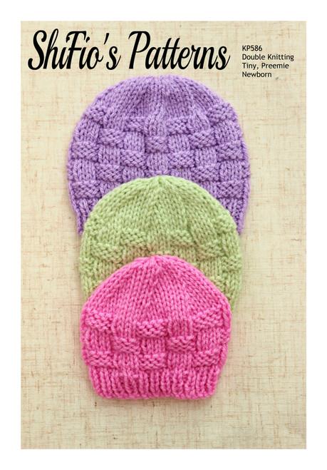Knitting Pattern #586