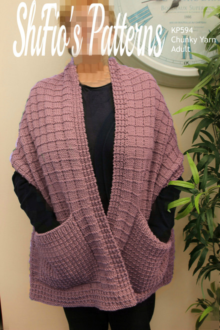 Knitting Pattern #596