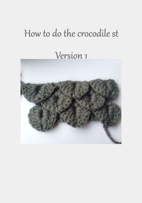 Crocodile Stitch How T0