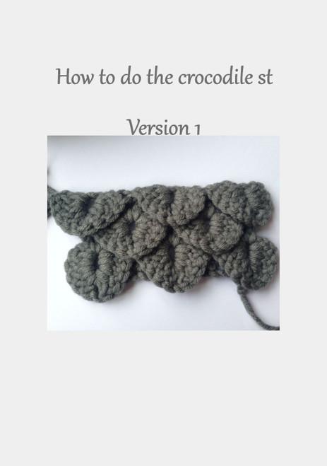 Crocodile Stitch How T0