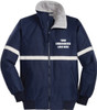 Security - Challenger Jacket with Reflective Taping *Embroidery Available*