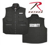 Security - Rothco Black Ranger Vest