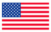 USA Flag Hard Hat Stickers (5 Pack)