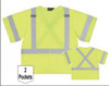 X Back Hi-Vis Lime Safety Vest ANSI Class 3 - ERB S549