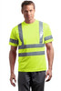 Safety Green Short Sleeve Safety Pocket TShirt Class 3  ANSI/SEA 107 Class 3 Certified
