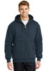 Heavyweight Full-Zip Hooded Sweatshirt with Thermal Ling - CS620
