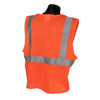 SV2 Safety Vest Safety Orange with Hook and Loop