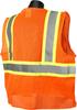 Safety Orange two tone Class 2 Safety Vest