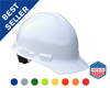 USA Made Hard Hat with Ratchet Suspension Construction Hard Hat