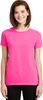 Ladies Safety Green Short Sleeve TShirt