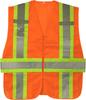 Safety Orange Expandable Class 2 Ansi Safety Vest Two Tone VS290P