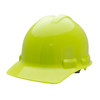 HiVis Lime Hard Hat Helmet Style Made in the USA