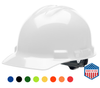 USA Made Hard Hat with Ratchet Suspension - Ask About Custom Imprint