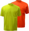 100% Polyester Safety TShirt  with Pocket