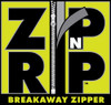 Zip n Rip Breakaway Zipper