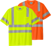 Class 3 Reflextive Tshirt 100% Polyester