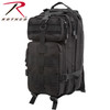 First Responder First Aid Kit Black | Military First Aid Supplies | Rothco Military Medical Trauma Kit Black | Rothco 1105 Black