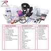 First Responder First Aid Kit | Military First Aid Supplies | Rothco Military Medical Trauma Kit| Rothco 1105