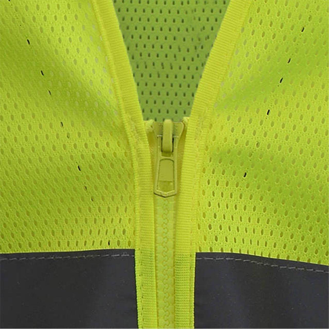 Zipper Safety Vest
