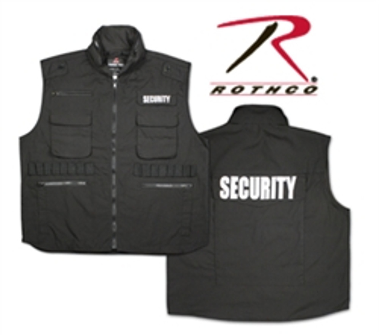 Security Embroidered Items Jacket,Fleece,Polo,Package