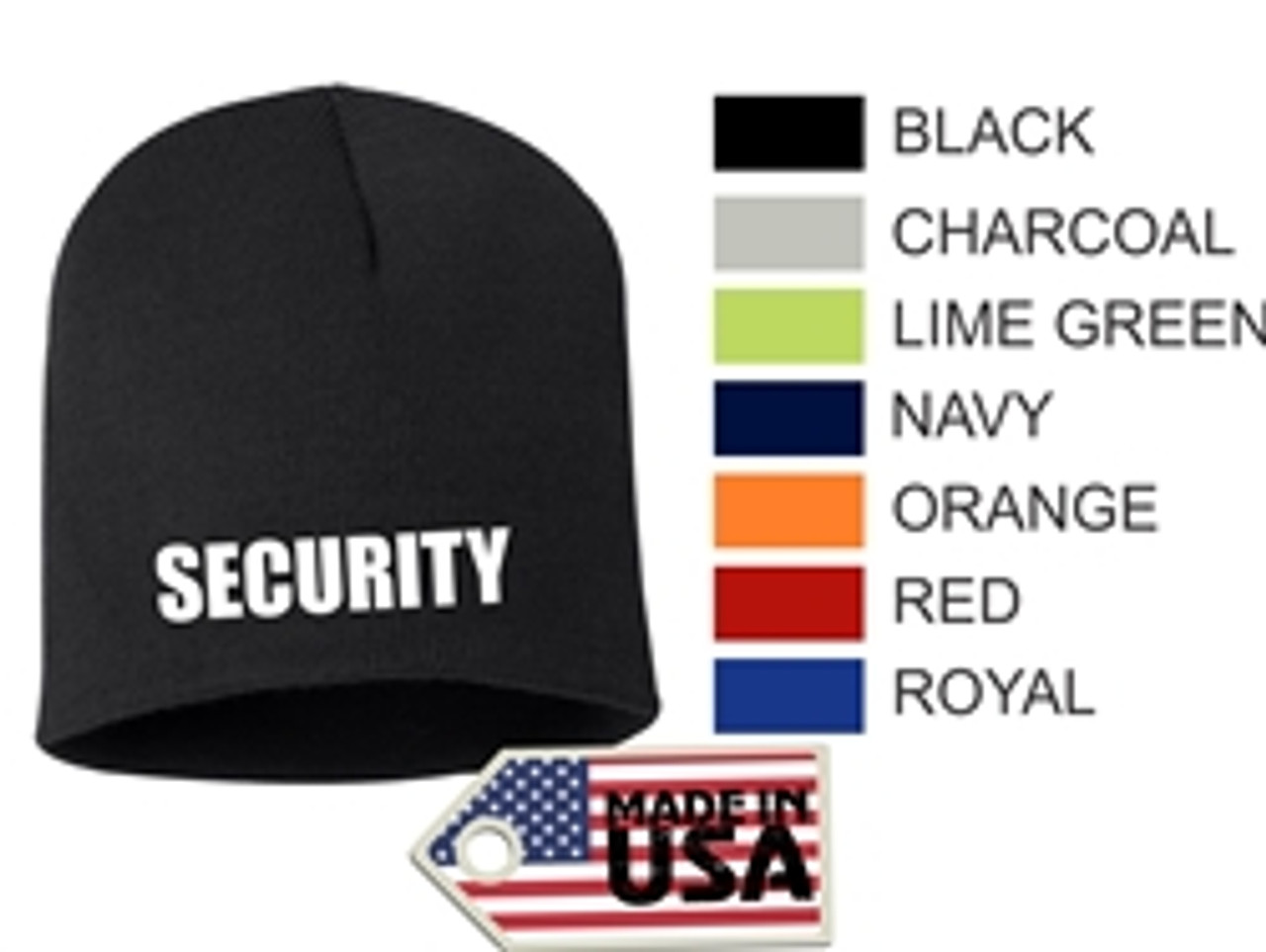 Security - Beanie USA Made