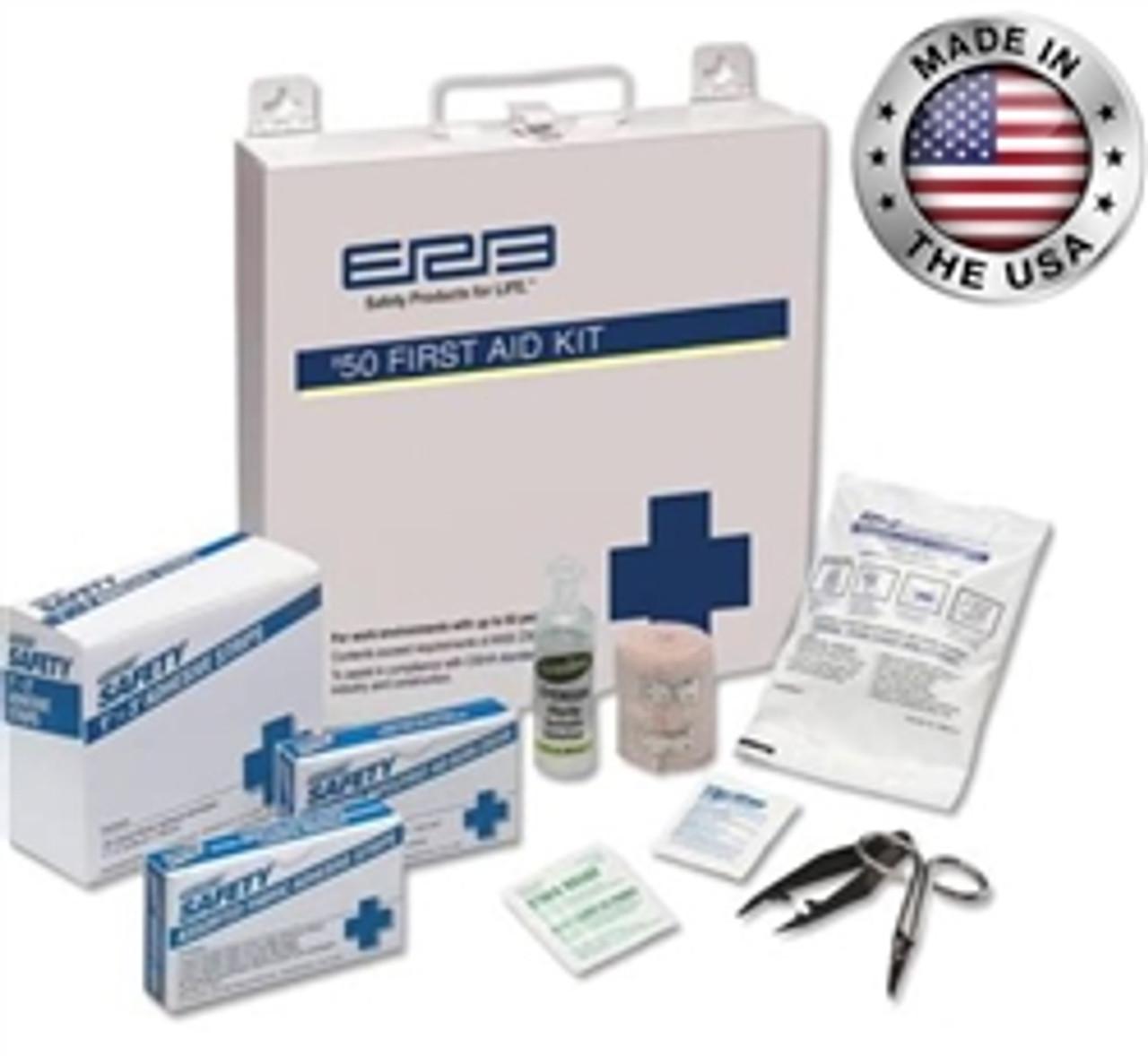 #50 ANSI Premium First Aid Kit Metal - ERB 17137