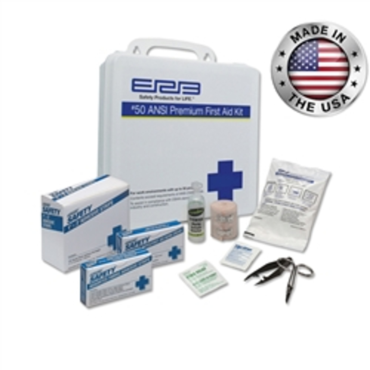 #50 ANSI Premium First Aid Kit Plastic - ERB 17136