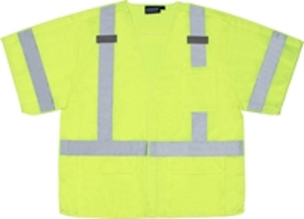 5 Point Break-Away Class 3 Safety Vest with D-Ring Pass Thru - ERB S542