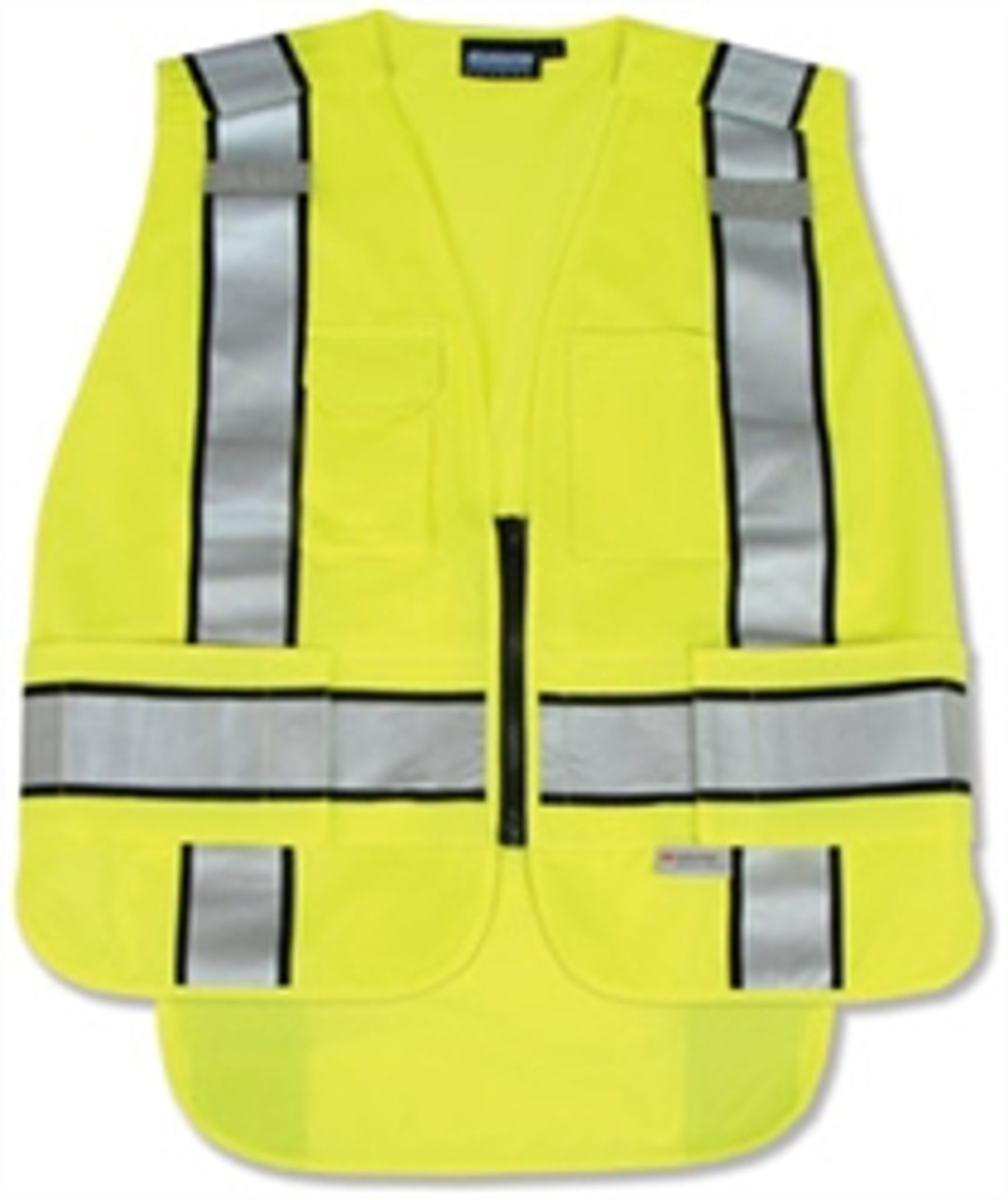 5 Point Break-Away ANSI 207 Public Safety Vest Yellow - ERB S368
