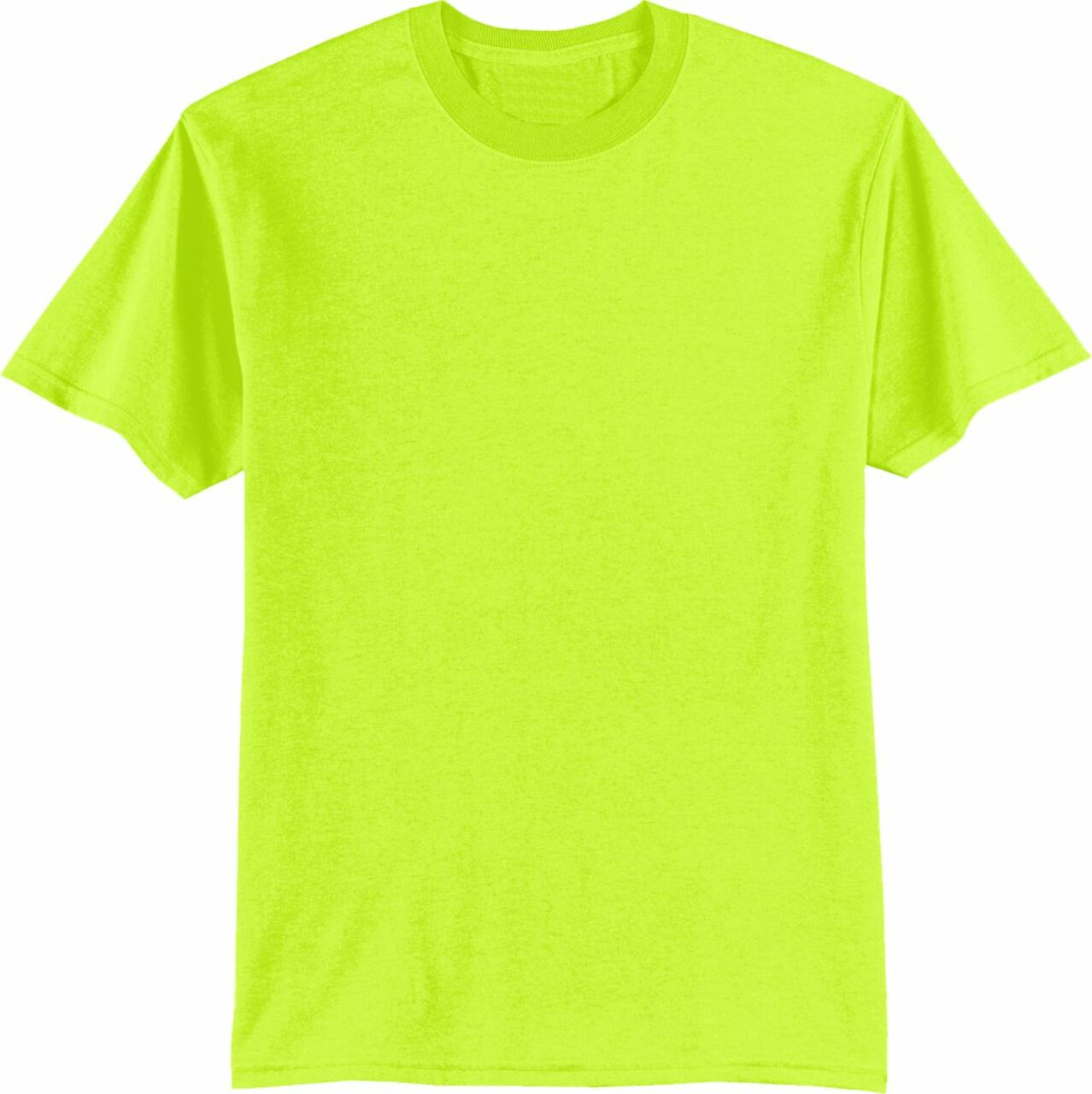 Safety Green TShirt | Hi Vis Work Shirt