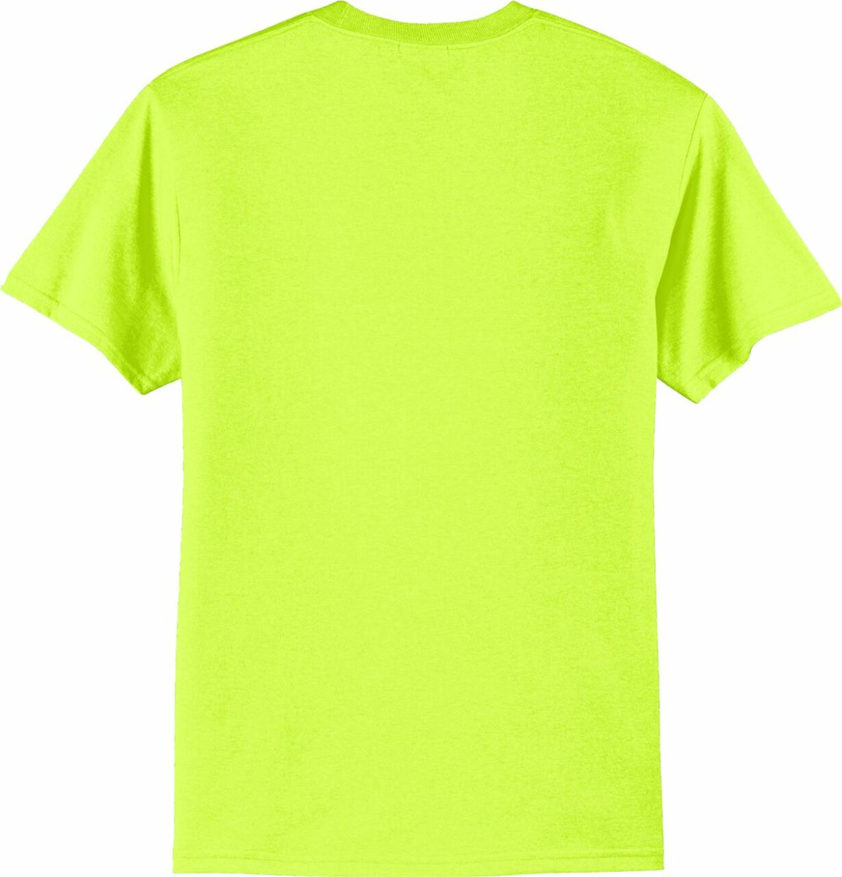 Best Construction Safety Shirts | Safety Green T-Shirt