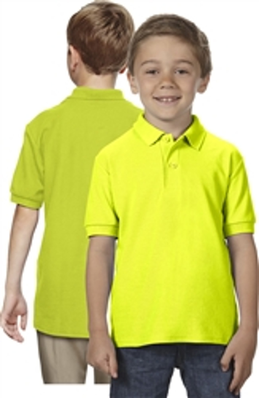 Youth Dryblend Double Pique Polo *Custom Embroidery and Custom Screen Printing Available*