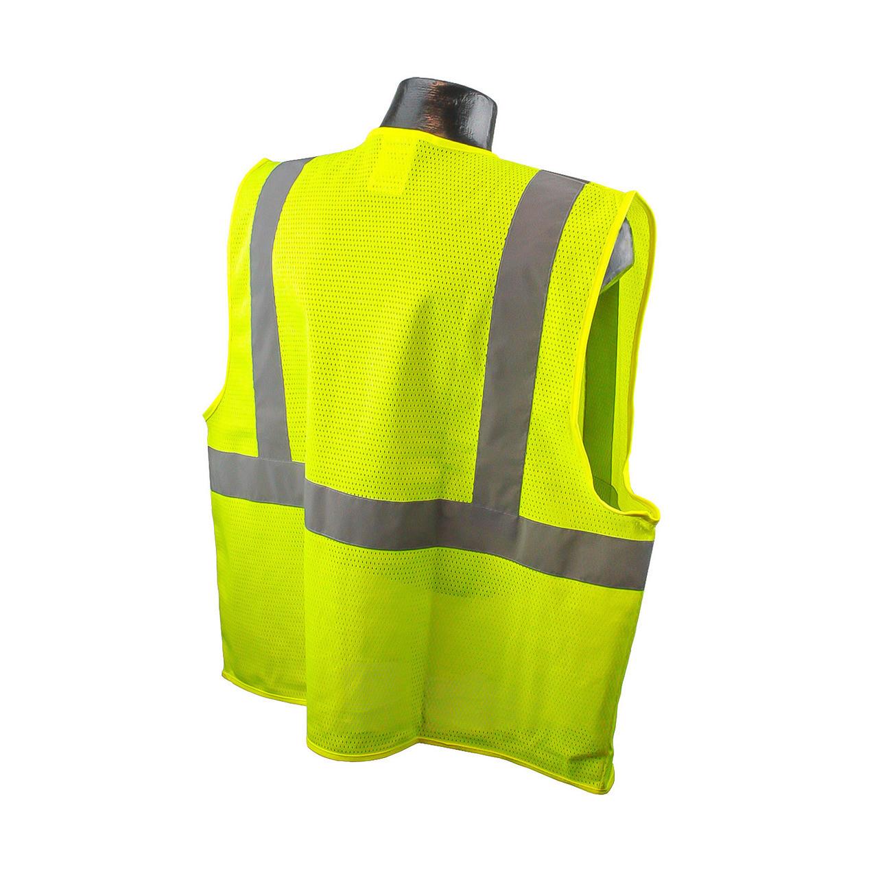 Radians SV2 Safety Vest Lime - Safety Green Back